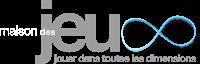 Logo Maison des Jeux E bleu et blanc copie